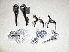 SHIMANO 105 9 SPEED Triple Group ST-5510 RD-5600 FD-5510 Shifters Deraillers kit