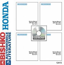 2007 2008 2009 2010 2011 Honda CR-V Shop Service Repair Manual CD Engine Wiring