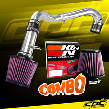 01-05 Honda Civic DX/LX Manual 1.7L Polish Cold Air Intake + K&N Air Filter