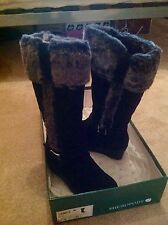 Brand New Shropody Fur Lined Boots Size 4
