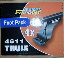 THULE 4611 ROOF RACK & BARS RAPID FIXPOINT FOOT PACK