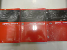 2006 Harley Davidson SOFTAIL Service Shop Manual Set W Parts & Electrical Books