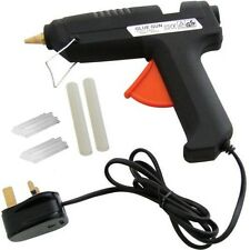PRO HOT MELT GLUE GUN ADHESIVE ELECTRIC HOBBY CRAFT MINI STICKS & 22 REFILLS DIY
