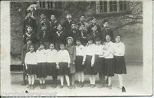 Fotokarte Schuluniform, Pfadfinder, Jugendorganisation um 1930 Uniform
