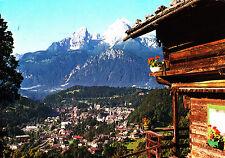 Blick auf Berchtesgaden mit Watzmann ; Ansichtskarte , gelaufen