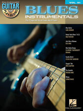 Blues Instrumentals Guitar Play Along 8 Songs! Tab Book Cd NEW!