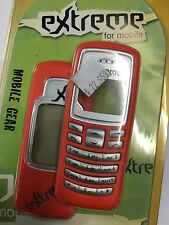 Nokia 2100 Front & Rear Housings/Covers Orange incl. Screen Display Glass,Keypad
