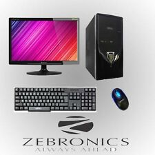 ZEBRONICS BRANDED  FULL DESKTOP PC WITH 15 LED  AND 1000 GB WITH 2GB RAM