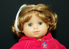 Monique Doll Wig Kayla Sz 12-13 Curls Lt Strawberry Blonde Fits Bitty Twin Baby