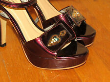 GIAY THAI TRANG Diamond Designer For Jimmy Choo High Heels Womens Shoes Sz 5 35
