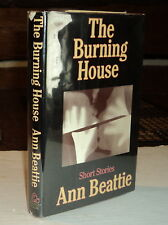 1982 1ST ED. THE BURNING HOUSE - INSCRIBED by ANN BEATTIE to HANS NAMUTH