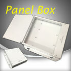 2xWall Mount Panel Control box Electrical Electronic Power Light Metal Enclosure