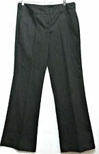 Tracy Evans Limited Ladies Black Pinstripe Polyester Rayon Juniors Pants - Sz 7