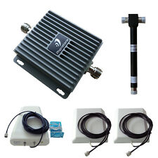 Canada/USA 850/1700Mhz Cell Phone Voice & Data Signal Booster 2 indoor antennas