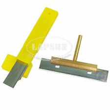 UV Glue Remove Cleaner T-Tip Solder Iron Tip +10pcs Blades for Touch LCD Screen