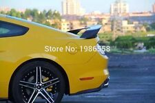 GT350R Style Real Carbon Fiber Rear Spoiler For Ford Mustang Coupe 2015 up Black