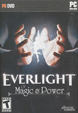 EVERLIGHT OF MAGIC & POWER - Ever Light Adventure PC Game for Windows - NEW BOX!