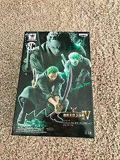 One Piece Roronoa Zoro Banpresto Figure New in Box Sealed Free Shipping