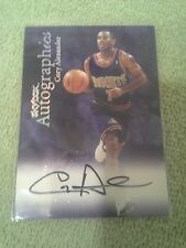 1999-00 Skybox Autographics Cory Alexander Autograph On Card Denver Nuggets
