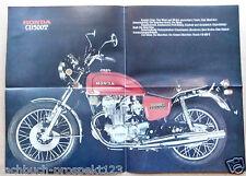 HONDA CB 500 T PROSPEKT 1976 500CCM 42 PS LUFTGEKÜHLT OLDTIMER SAMMLER