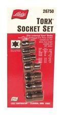Lisle 26750 Torx Socket Set - for External Bolts
