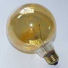 Paulmann Glühlampe Glühbirne 60W E27 Gold Globe 60W Ø100mm Goldlicht