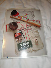 "No. 12 ""Stan 'The Man' Musial"" First Edition Memorabilia Poster Cardinals"