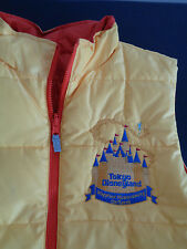 TOKYO DISNEYLAND Rose Parade 2006 Vest IT'S MAGICAL Happiest Homecoming On Earth