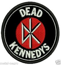 DEAD KENNEDYS EMBROIDERED PATCH PUNK ROCK GBH EXPLOITED Metal Negro