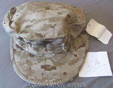 N.W.T USMC Garrison Hat, Utility Cover, Desert Digital, EGA,8-PT,  X-LARGE
