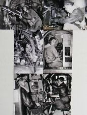 USAAF WW2 B-24 Bomber Crew Six 4x6 Photo Set Pilot Gunners Bombardier WWII