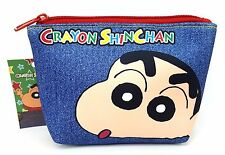 Crayon Shinchan Pouch / Cosmetic Bag Free Registered Shipping
