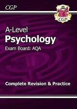 New 2015 A-Level Psychology: AQA Year 1 & 2 Complete Revision & Practice, CGP Bo