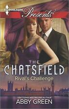 The Chatsfield: Rival's Challenge 3273 by Abby Green (2014, Paperback)