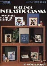 Bookends In Plastic Canvas Cross Stitch Chart Pattern 6 Designs
