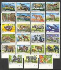 Cook Islands 1992 Animals/Birds/Insects 23v set n20286
