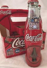 COCA COLA--4 PACK--2006--MARCH MADNESS--FINAL FOUR--FULL--8 oz BOTTLES--RARE!