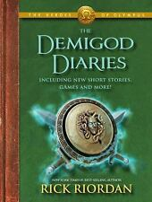 The Heroes of Olympus: The Demigod Diaries, Riordan, Rick, Good Condition, Book