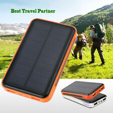 10000mAh USB Solar Panel Power Bank External Battery Charger For Mobile Phone OY