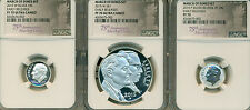 2015 W Silver March of Dimes 3pc. Set NGC CERTIFIED PF70 Early Releases