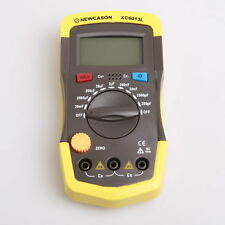 new Digital diaplay Meter Capacitance Capacitor Tester gauge test tools w/probes