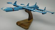 Zero-X Thunderbird Spacecraft Desktop Wood Model Big New