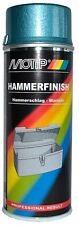1 x Motip Hammerschlag Spray Lack Blau 400ml  04011