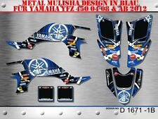 SCRUB DEKOR KIT ATV YAMAHA YFZ 450 04-14 GRAPHIC KIT YAMAHA LOGO D1671 B