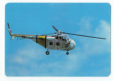 1989 Portugese Pocket Calendar  Search & Rescue Helicopter - Sikorsky UH-19A
