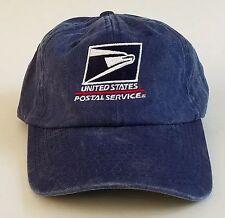 USPS Letter Carrier Stonewashed Blue Denim Postal Post Office Hat