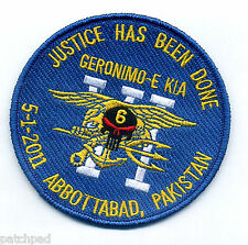 SEAL OPERATION NEPTUNE SPEAR ST6 vel©®Ø PATCH: 5/2/2011 Osama bin GERONIMO-E KIA