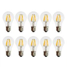 10 x LED Filament Glühbirne 6W fast 60W E27 Glühlampe Retro Nostalgie warm 2700K