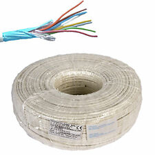 ELECTRIC CABLE WIRE SHIELDED ALARM FIRE RETARDANT ( 10X0,22 ) HANK OF 100 METERS