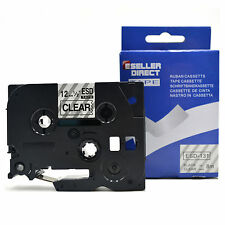 Compatible Brother TZ131 For P-Touch PT1090 PT1005 PT1200 PT1250 12mm Label Tape
